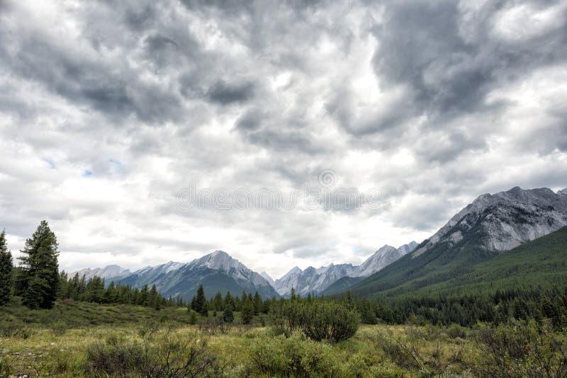 Скалистые горы стоковая фотография rf