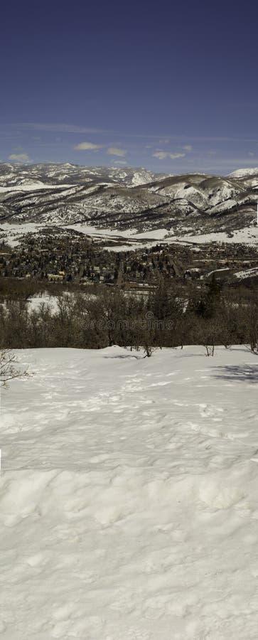 Скалистые горы стоковые изображения