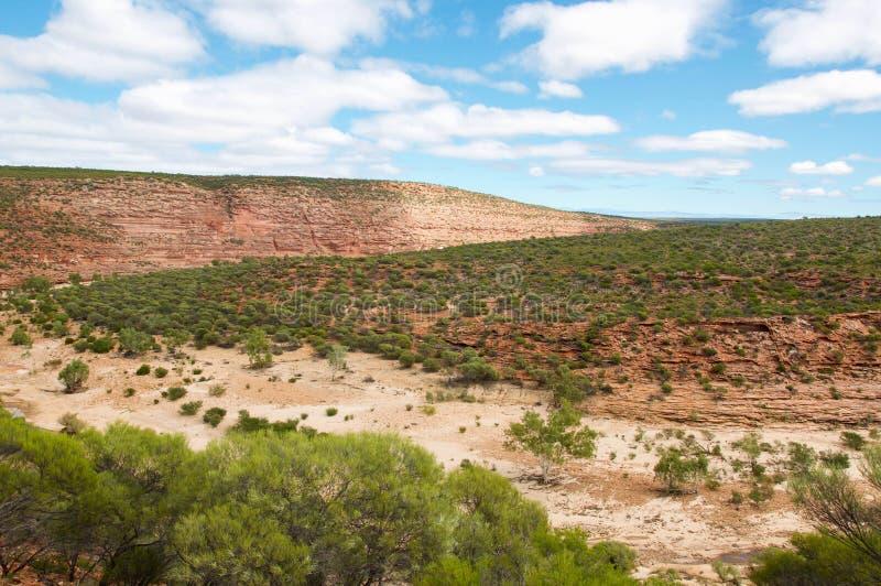 Скалистый ландшафт ущелья стоковое фото