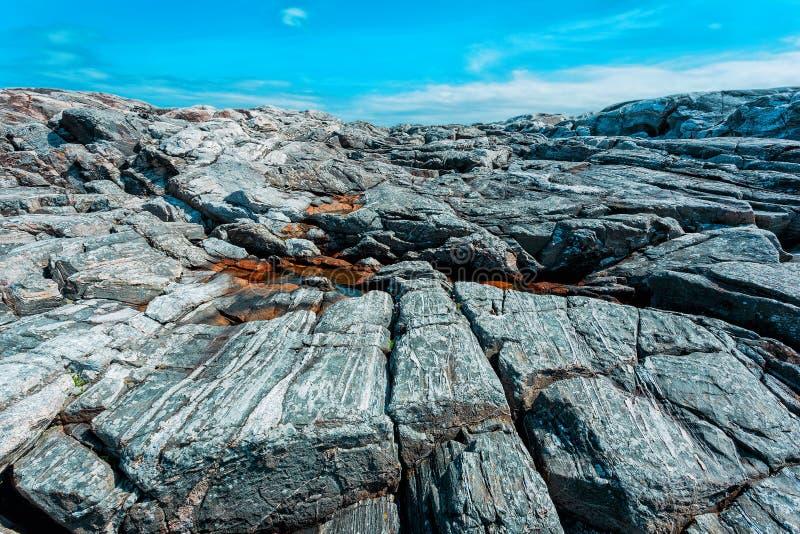 Скалистый каменный ландшафт стоковое изображение