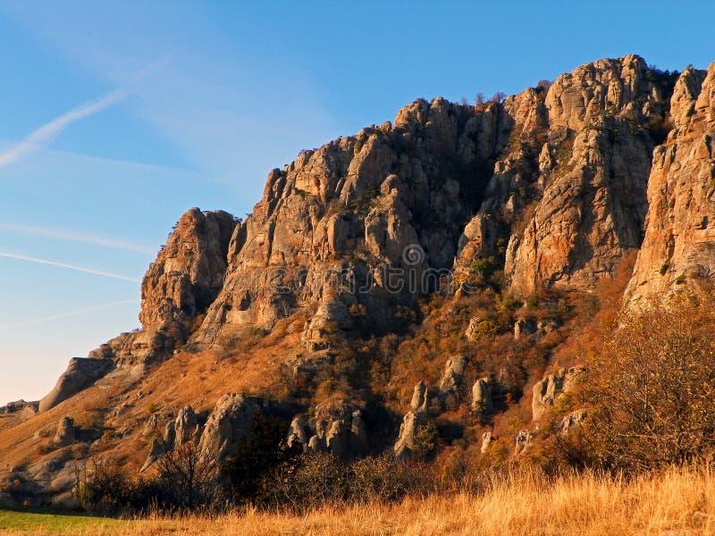 Скалы Крыма стоковая фотография