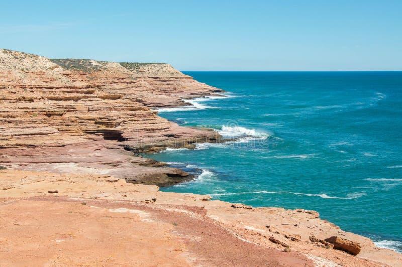 Скалы песчаника: Переулок бака, западная Австралия стоковые изображения