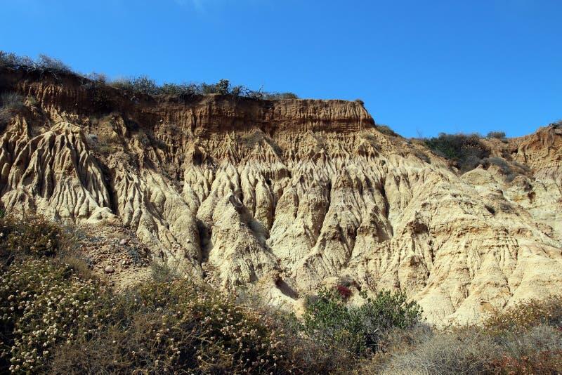 Скалы песчаника стоковое изображение