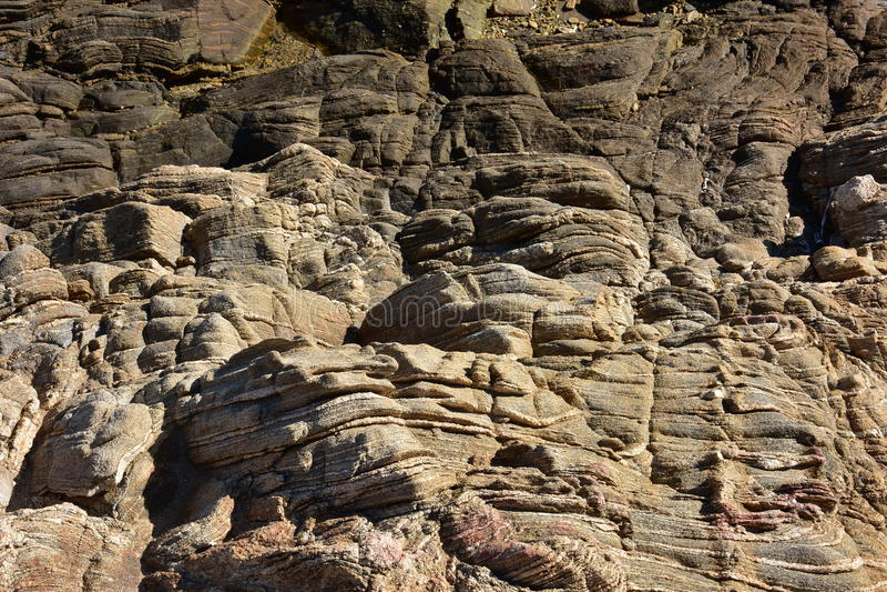 Скалы утеса в Сардинии стоковая фотография rf