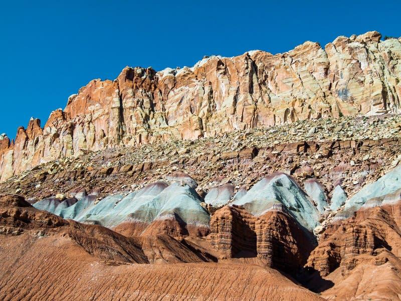 Скалы цвета стоковые изображения