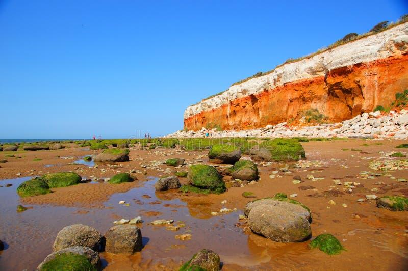 Скалы Hunstanton стоковое фото rf