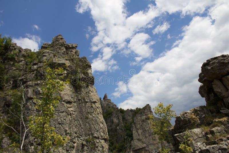 Скалы Lakatnik стоковое изображение rf