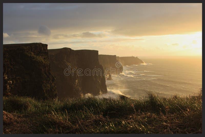 Скалы Moher стоковое фото rf