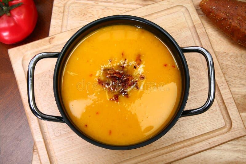 сквош супа butternut стоковые фотографии rf