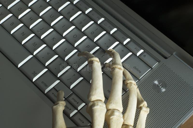 Скелетные руки стоковое фото rf