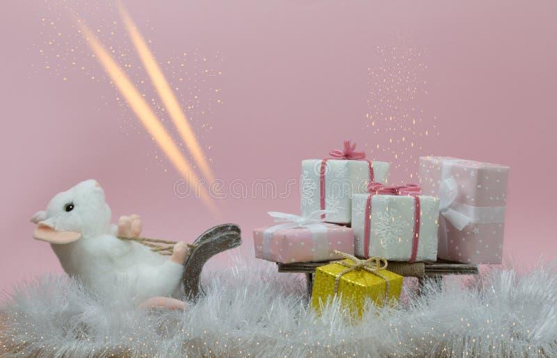 Скелетон рождества стоковая фотография