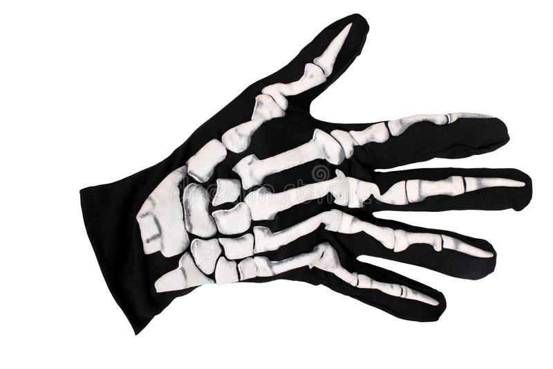 скелет руки стоковое изображение