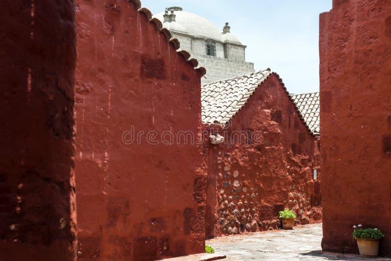 скит Перу santa arequipa catalina стоковая фотография rf