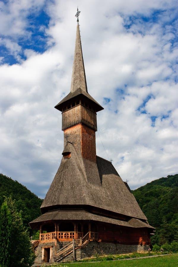 скит церков barsana деревянный стоковая фотография rf