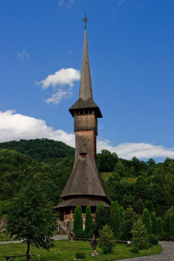 скит церков barsana деревянный стоковые фотографии rf