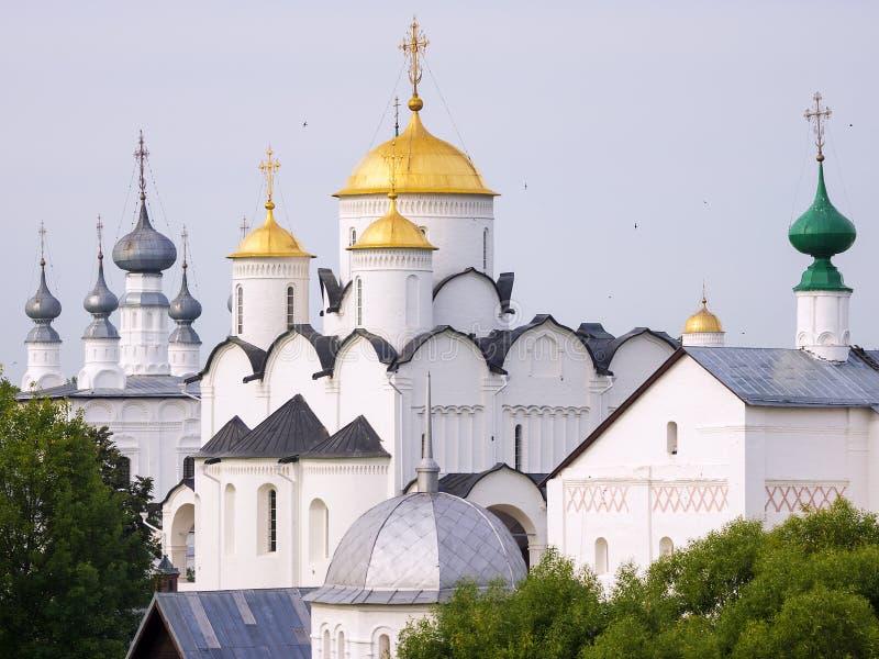 скит pokrovsky Россия suzdal стоковые изображения