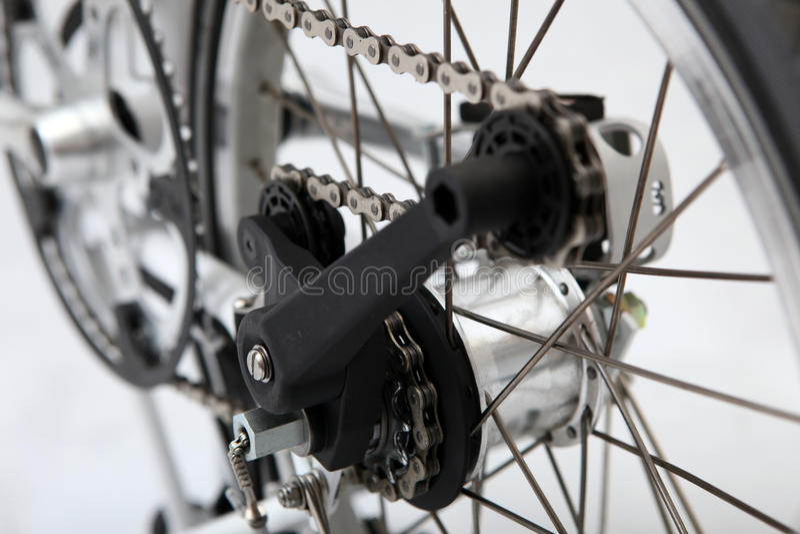 складчатость велосипеда стоковое фото rf