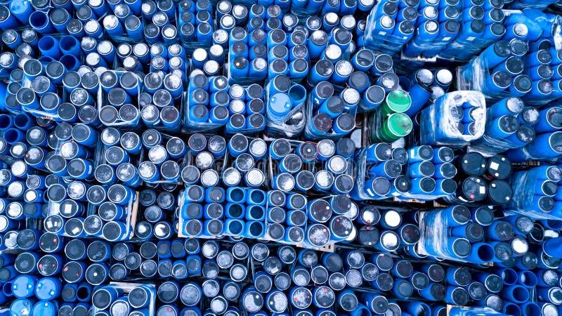 Склады для заводов рефрижерации, контейнеров яловости стоковые фотографии rf