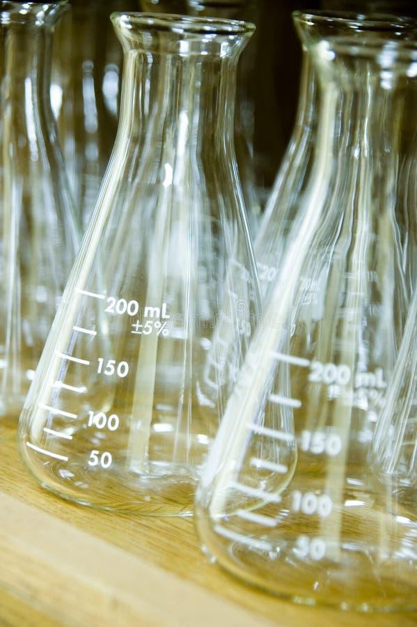 склянка химии beakers стоковые фото