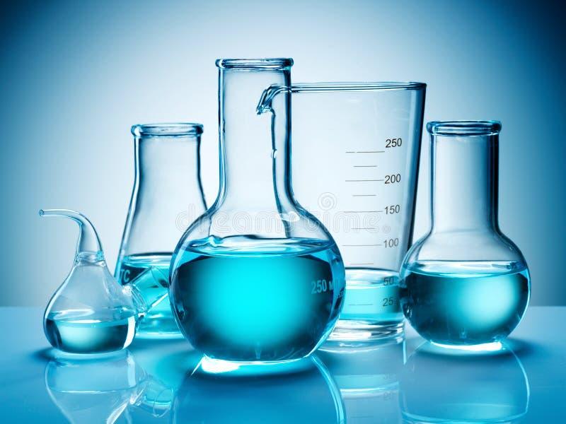 склянки beakers стоковые фотографии rf