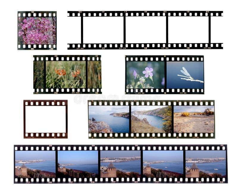 скольжение рамок пленки стоковая фотография