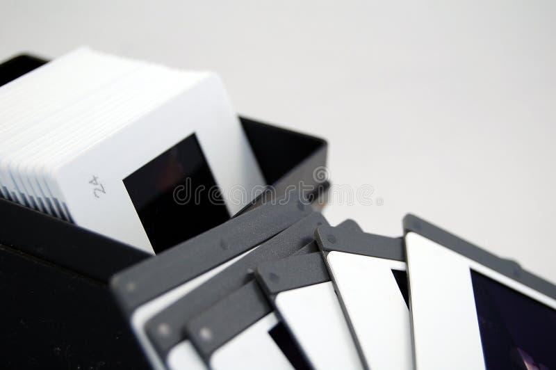 скольжение съемки пленки стоковое изображение