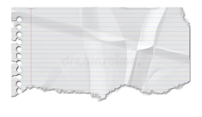 скомканная бумага иллюстрация штока