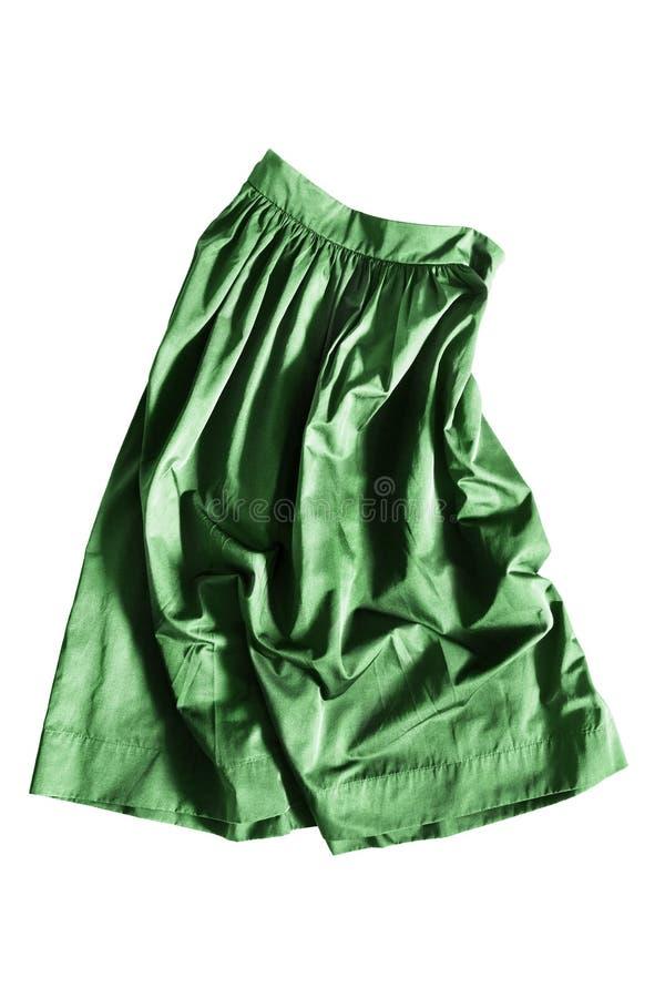 Скомканная изолированная юбка стоковые изображения