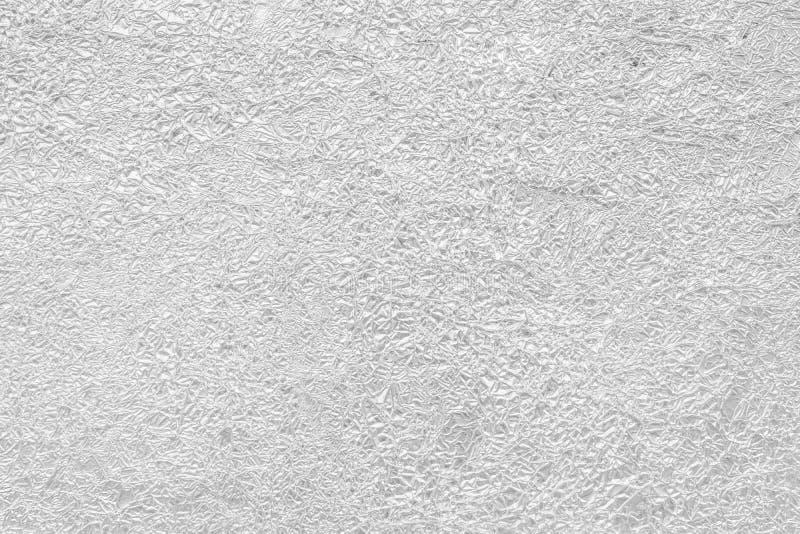Скомканная серая текстура фольги полезная для предпосылки стоковое фото rf