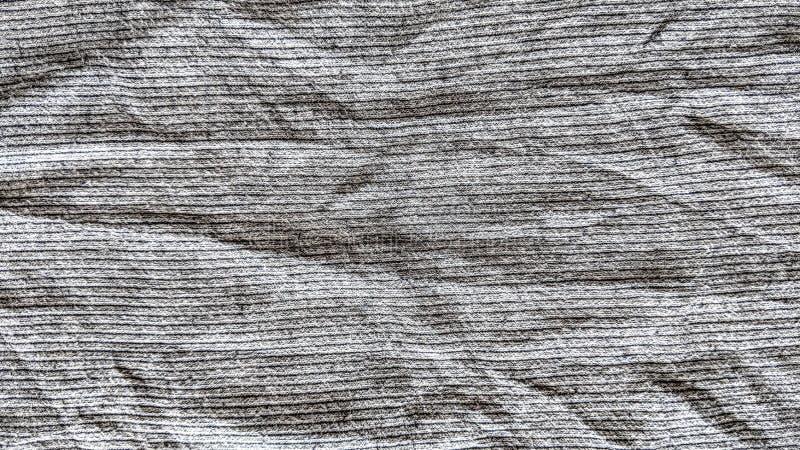 Скомканные серые ткани с горизонтальными прямыми бесплатная иллюстрация