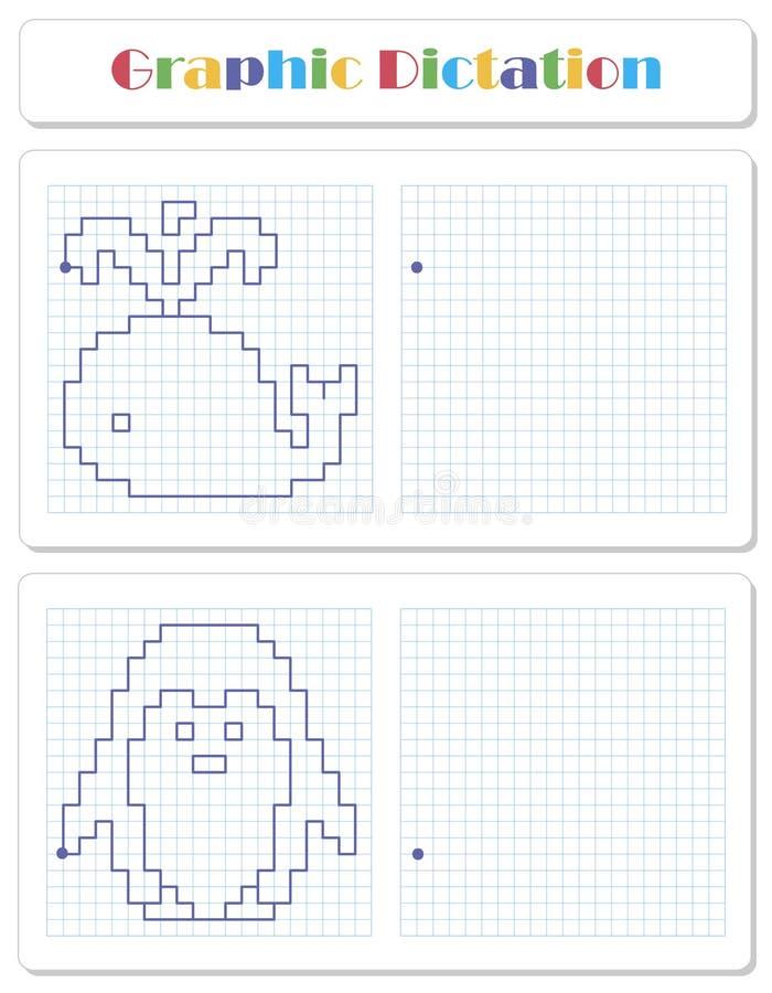 Скопируйте графическое изображение Рабочее лист для детей иллюстрация вектора