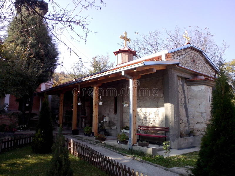 скопье македонии kuckovo церков стоковое фото