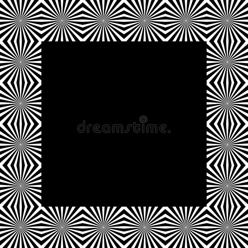 Download Скороговорка с мозаикой излучать линии Monochrome предпосылка Иллюстрация вектора - иллюстрации насчитывающей повторять, вакханические: 81805833