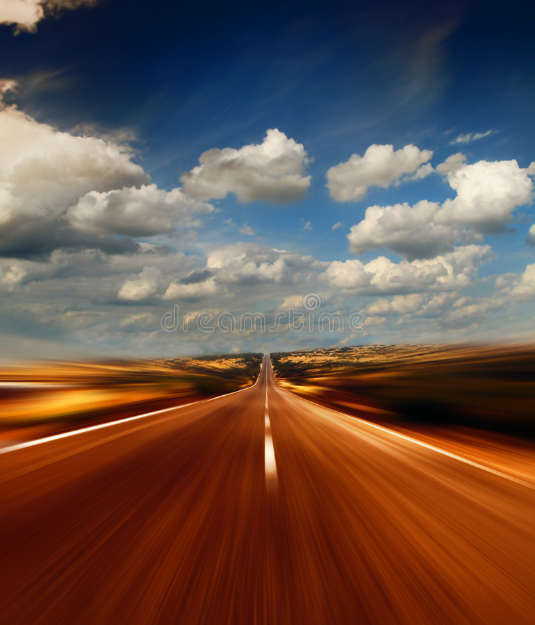 скоростная дорога стоковые фотографии rf