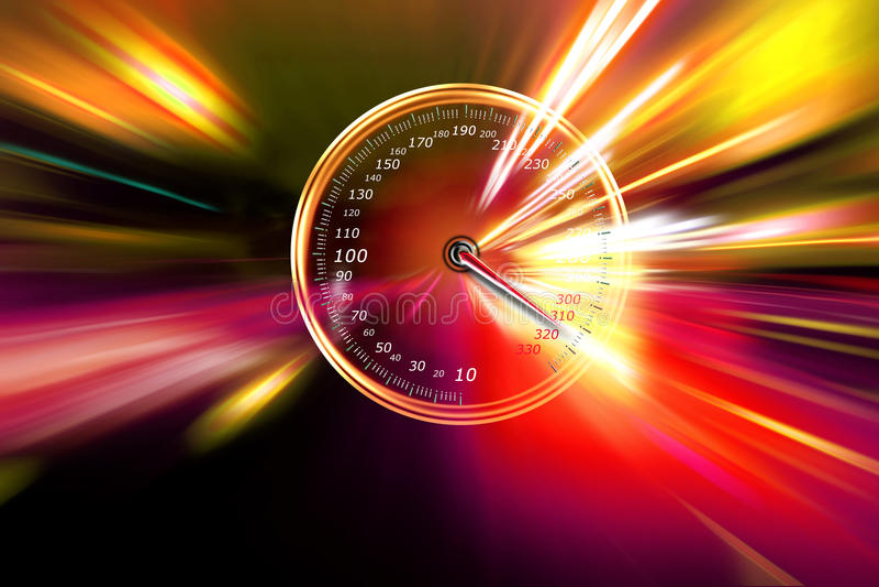 скорость на спидометре стоковые изображения rf