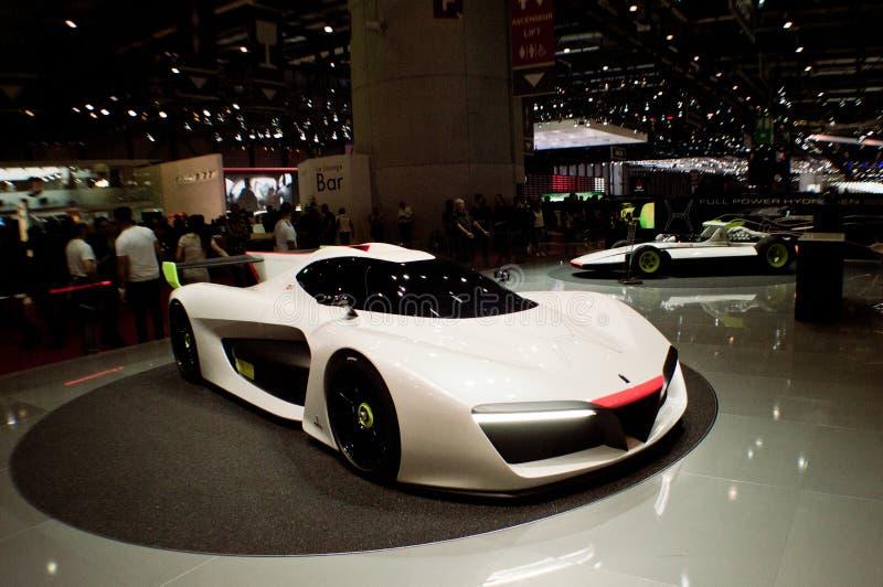 Скорость Pininfarina H2 на Женеве 2016 стоковая фотография