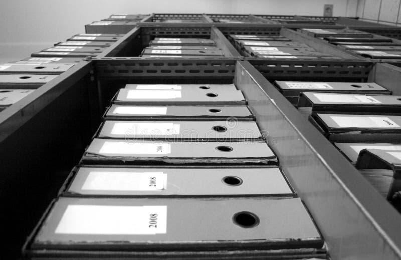 скоросшиватели архива стоковые фотографии rf