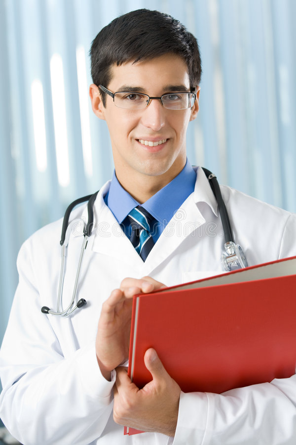 скоросшиватель доктора стоковая фотография