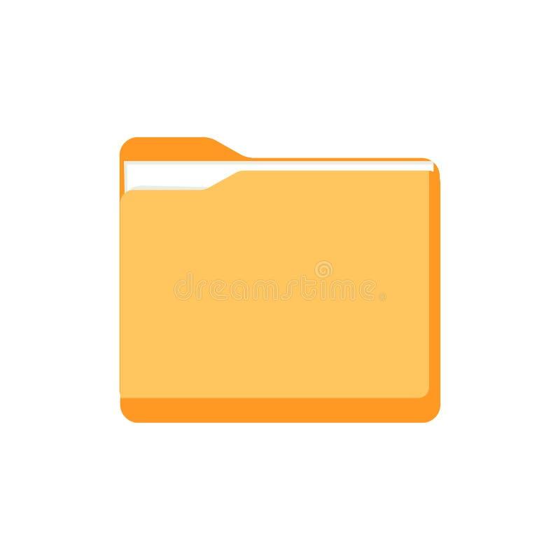 Скоросшиватель с документом также вектор иллюстрации притяжки corel бесплатная иллюстрация