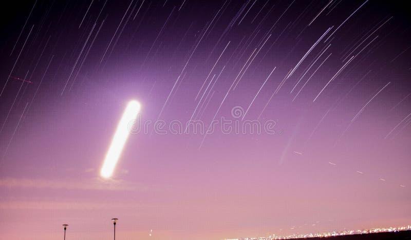 Скольжение звезды стоковая фотография rf
