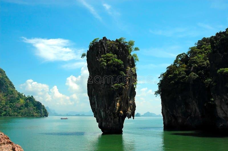 скрепленный остров james стоковые фото