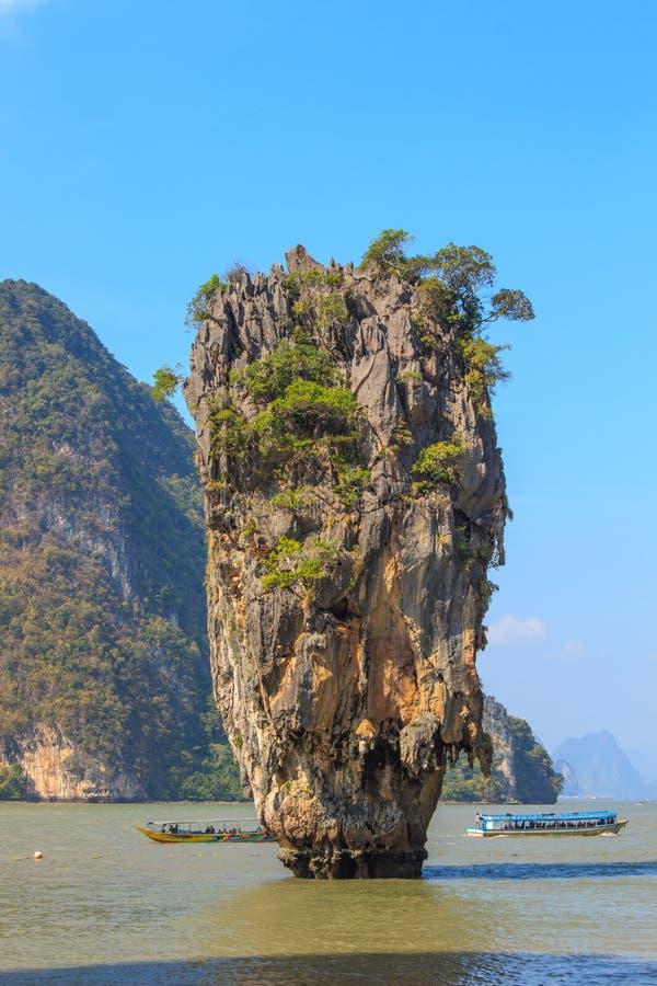 скрепленный остров james стоковые изображения rf