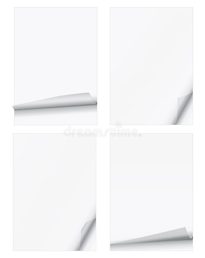 Скручиваемости страницы бесплатная иллюстрация