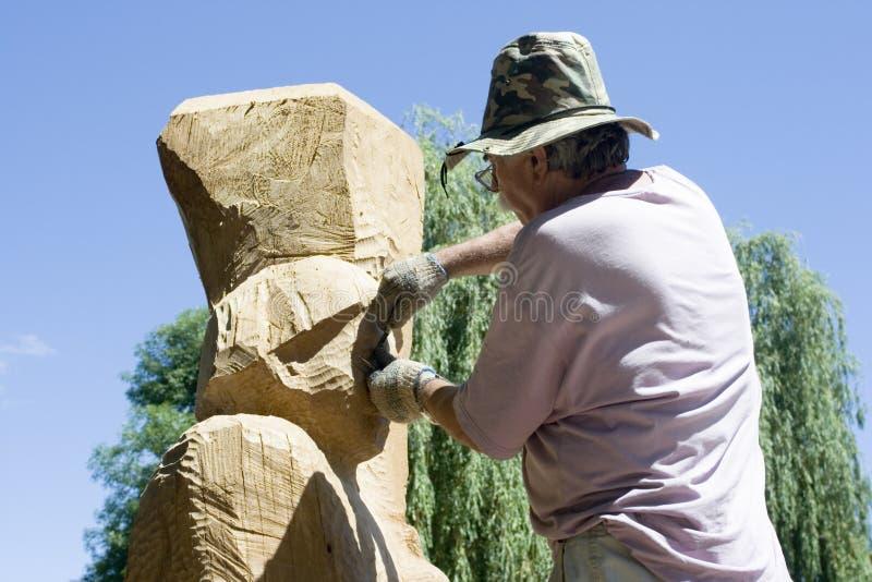 скульптор стоковая фотография