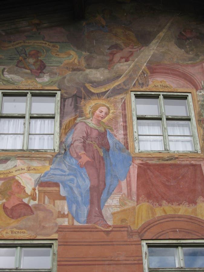 Скульптура Анджел библейского искусства христианская стоковое изображение rf
