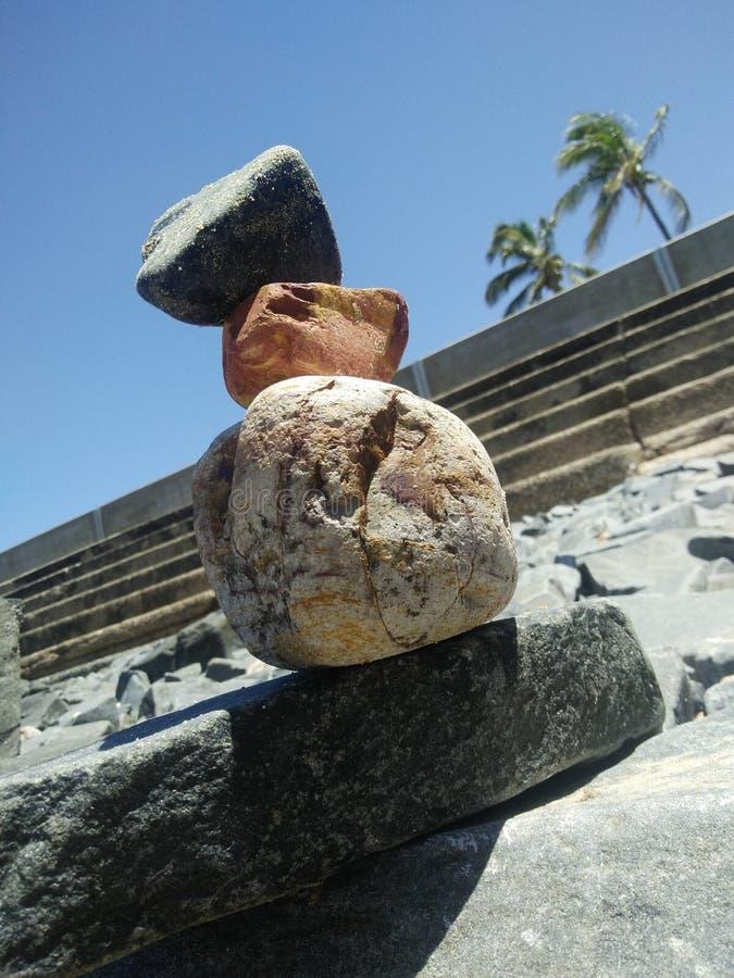 Скульптура береговой породы стоковые изображения