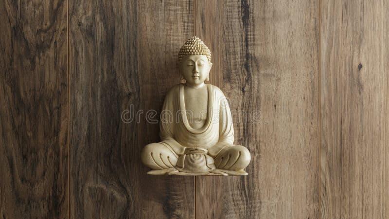 скульптура Будды стоковое фото rf
