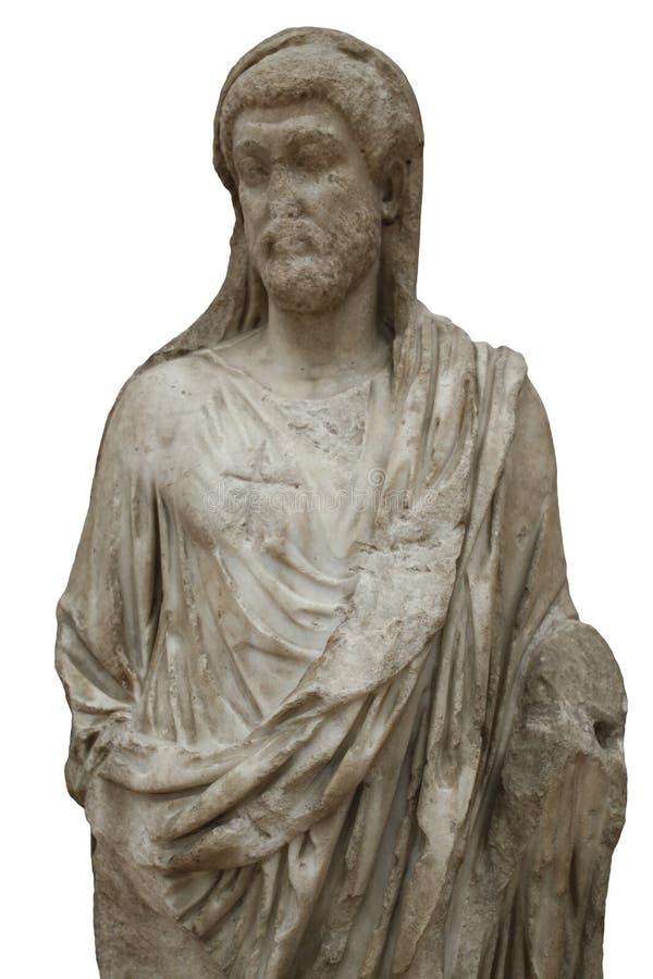 Скульптура императора Маркус Aurelius стоковое фото