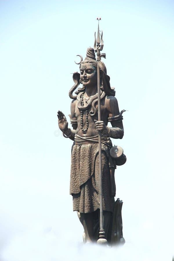 Скульптура лорда Shiva стоковые изображения