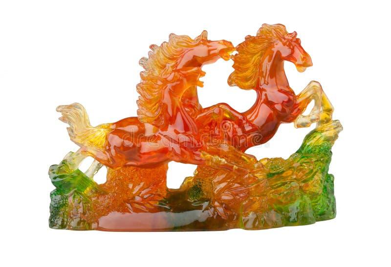 скульптура лошадей стоковые изображения rf